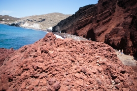 Red (volcano) beach